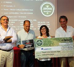 Concurso Nacional de Forragens - 2º Prémio patrocinadio pela Lusosem